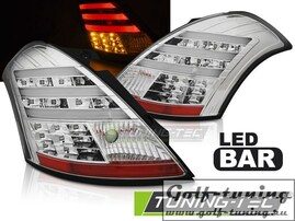 Suzuki Swift 10- Фонари lightbar design хром
