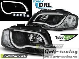 Audi A3 8P 03-08 Фары LED TUBE LIGHTS черные