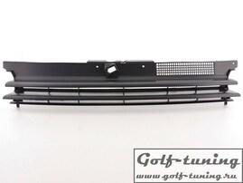 VW Golf 4 Решетка радиатора без значка черная