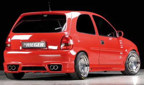 Opel Corsa B 3Дв Накладки на пороги