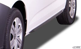 VW Caddy MAXI 2020- Накладки на пороги slim
