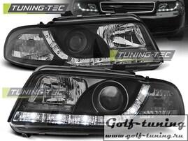 Audi A4 94-98 Фары DAYLIGHT, Dayline черные