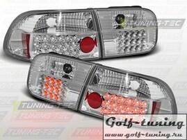 Honda Civic 91-95 2D/4D Фонари светодиодные, хром