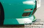 Накладка для спойлера переднего бампера Rieger 00047014