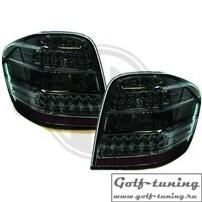 Mercedes W164 05-11 Фонари светодиодные, тонированные