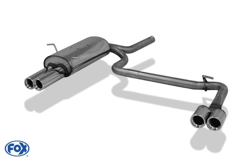 BMW E46 Глушитель FOX typ 13