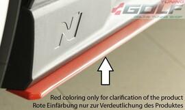 Hyundai i30 N (PDE) 17- Накладки под штатные N-пороги/сплиттеры