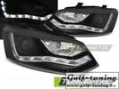 VW Polo Sedan 09-19 Фары Daylight design черные