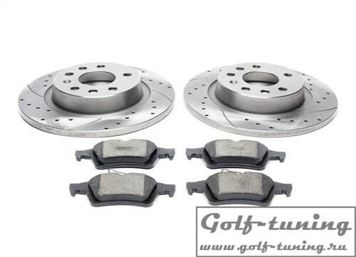 Fiat/Opel/Saab Комплект спортивных тормозных дисков и колодок