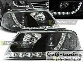 VW Passat B5+ 00-05 Фары Devil eyes, Dayline черные