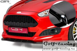 Ford Fiesta MK7 ST-Line 13- Накладка на передний бампер Cupspoilerlippe глянцевая