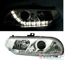 Alfa Romeo 156 97-03 Фары led light хром