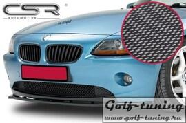 BMW Z4 E85/E86 02-06 Накладка на передний бампер Carbon Look