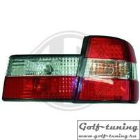 BMW E34 Седан Фонари светодиодные, красно-белые