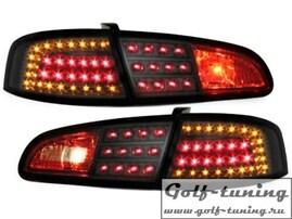 Seat Ibiza 6L 02-08 Фонари светодиодные, черные