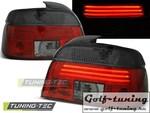 BMW E39 95-00 Фонари светодиодные, красно-тонированные