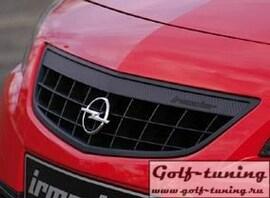 Opel Astra J 09-12 5Дв Решетка радиатора черная