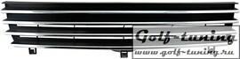 VW Polo 6N2 99-01 Решетка без значка с хром полосками