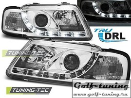 Audi A3 8L 96-00 Фары TRU DRL хром