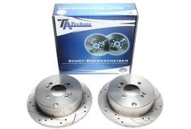 Hyundai Accent/Getz/i20/Kia Rio Комплект спортивных тормозных дисков