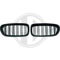 BMW F10/F11 13-17 Решетки радиатора (ноздри) M Look глянцевые