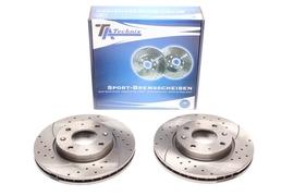 KiaCerato 04- Спортивные тормозные диски передние