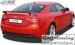 Audi A5 Coupe, Cabrio, Sportback Спойлер на крышку багажника