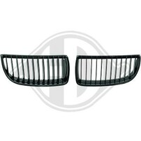 BMW E90 05-08 Решетки радиатора (ноздри) глянцевые