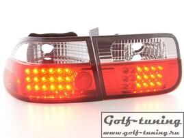 Honda Civic 96-00 2D Фонари светодиодные, красно-белые