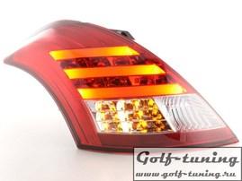 Suzuki Swift 11- Фонари светодиодные, красно-белые