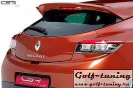 Renault Megane Купе 09- Спойлер на крышку багажника