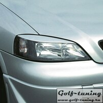 Opel Astra G Реснички на фары