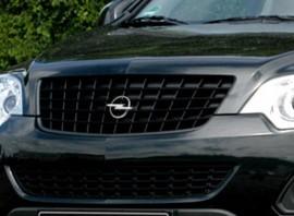 Opel Antara 11- Решетка радиатора черная
