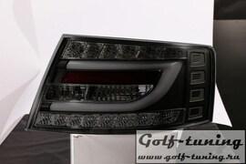 Audi A6 4F 04-08 Седан Фонари светодиодные, черные lightbar design