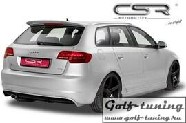 Audi A3 8P/8PA 08-12 Накладка на задний бампер