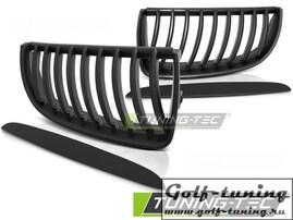 BMW E90/E91 05-08 Решетки радиатора (ноздри) черные, матовые