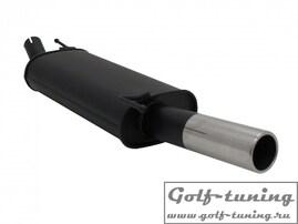 VW Golf III / Cabrio/Golf IV Cabrio Глушитель 1 x 76 mm