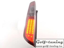 Ford Focus 08-11 5Дв Фонари светодиодные, красно-тонированные