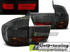 BMW X5 07-10 Фонари светодиодные, тонированные