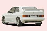 VW Scirocco 1 78-88 Задний бампер
