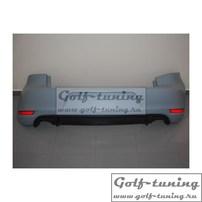 VW Golf 6 Задний бампер в стиле GTI
