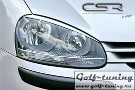 VW Golf 5 Реснички на фары