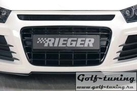 VW Scirocco 08-14 Решетка радиатора черная, глянцевая