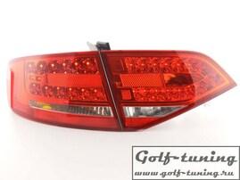 Audi A4 B8 07- Седан Фонари светодиодные, красные