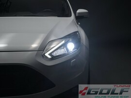 Ford Focus 11-14 Фары LEDriving Xenarc Edition black ксенон