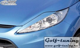 Ford Fiesta 08- Ресницы на фары