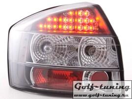 Audi A4 B6 01-04 Седан Фонари светодиодные, черные