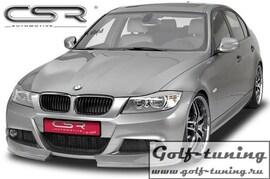 BMW E90/E91 3er 08-11 M-Paket Накладка на передний бампер