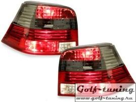 VW Golf 4 Фонари красно-тонированные