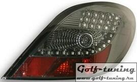 Peugeot 207 06- Фонари светодиодные, тонированные